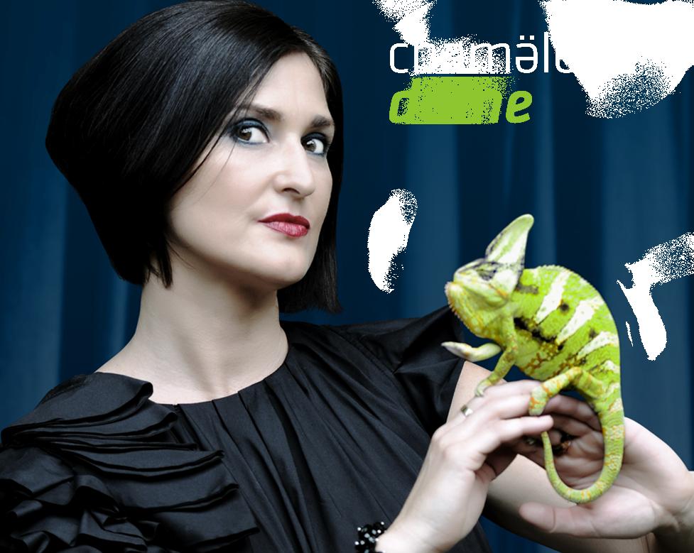 Chamäleon Dame